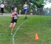 Sophomore Sarah Madsen competes in the conference meet at University City on Oct. 12. Photo by Ms. Tara Stepanek.