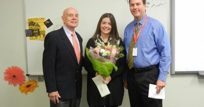 Math teacher wins 2014 Albert Award