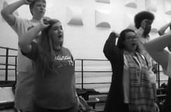 Sydney Winders participates in vocal eight ensembles
