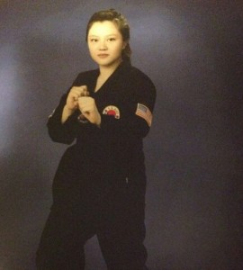 Yun Jun receives black belt1`