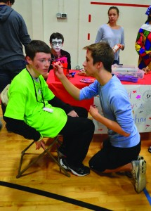 365 athletes attend  Special Olympics