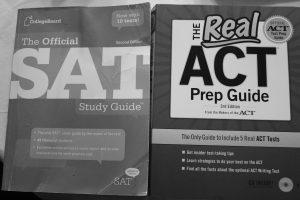 Students prepare to take standardized exams