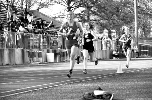 Senior Girls make strides in track