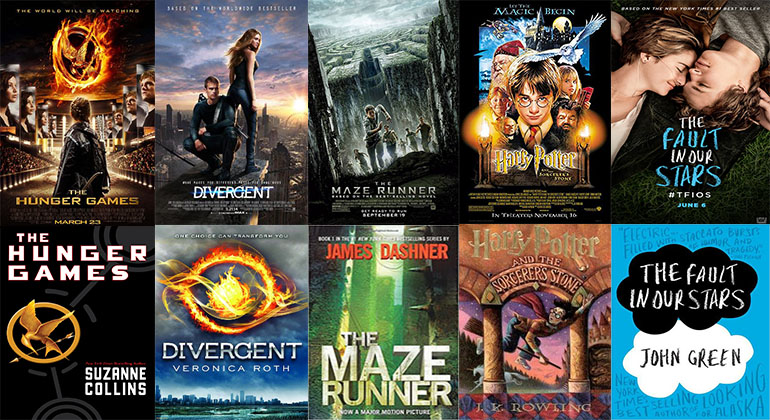 Books Vs Movies Adaptations Take Hollywood By Storm