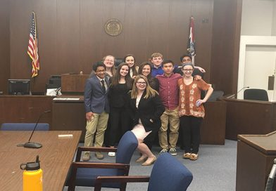Mock Trial Competes in 2018 State Competition